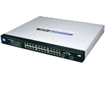 Linksys SRW2024P - 24-port 10/100/1000 Switch with WebView and PoE